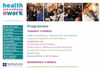 Health At Work Programme